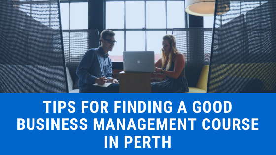business management in perth
