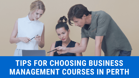 tips for choosing business management course